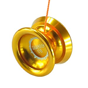 New Golden Magic YoYo T8 Shadow Aluminum Professional Yo-Yo