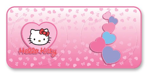 Hello Kitty Heart Spring Shade Universal Size Windshield Sunshade - Pack of 1