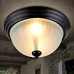 CHXDD 60W Flush Mount , Modern/Contemporary / Country Painting Feature for Mini Style Metal Living Room / Bedroom / Entry , 220-240v