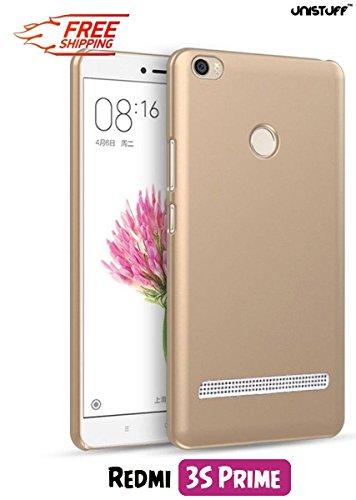 promo code 004e9 53c08 For Xiaomi Redmi 3S Prime[COMBO OFFER]: Unistuff™ Matte Finish Hard Case  Back Cover for Xiaomi Redmi 3S Prime [SLIM FIT][FREE SHIPPING] (Golden, ...