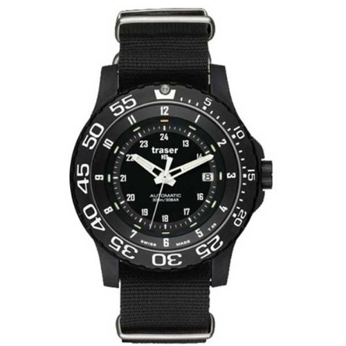 Traser P6600 Swiss Automatic Pro Watch with Sapphire Crystal P6600.4A8.13.01 - 414xQ5nSA3L - Traser P6600 Swiss Automatic Pro Watch with Sapphire Crystal P6600.4A8.13.01