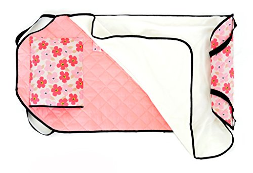 Cheapest Prices! Urban Infant Tot Cot Daycare / Preschool Cot / Mat Cover - Poppies