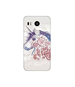 KolorEdge Printed Back Cover For LG Nexus 5X Multicolor - (8412-Ke10515Nexus5XSub)