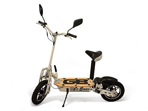 1000W Electric Performance Scooter - White