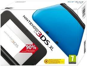 Nintendo 3DS - Consola XL, Color Negro Y Azul