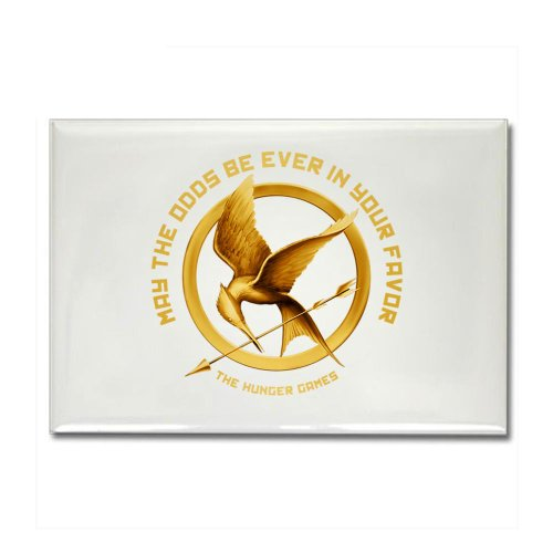 Hunger Games Mockingjay Rectangle Magnet by CafePress