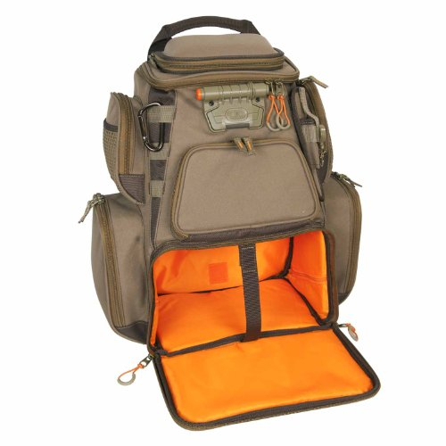 Wild river by clc wn3604 tackle tek nomad lighted backpack for Fishing tackle box backpack