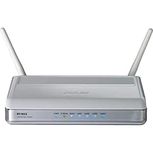 ASUS (RT-N12) Wireless-N 300 Advance Home Router: Fast Ethernet, 3 in 1 switch(Router/Repeater/Access Point) and support upto 4 Guest SSID(Open source DDWRT Support)