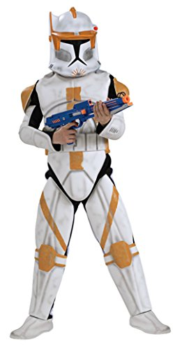 Boys Clonetrooper Cody Deluxe Kids Child Fancy Dress Party Halloween Costume
