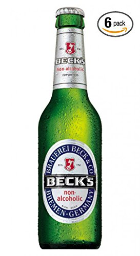 Beck's German Non-alcoholic Beer 12 oz (Pack of 6)