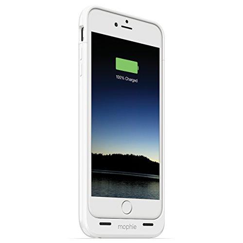 【日本正規代理店品・保証付】mophie juice pack for iPhone 6 Plus (5.5インチ) ホワイト MOP-PH-000075