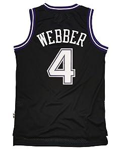 Adidas Men's Sacramento Kings NBA Chris Webber Soul Swingman Jersey