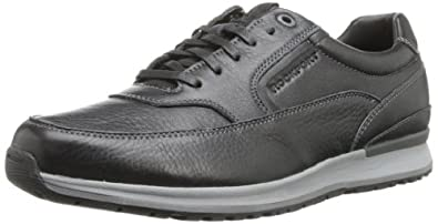 Rockport Men's Crafted Sport Casual MGD Walking Shoe,Black/New Griffin,6.5 W US