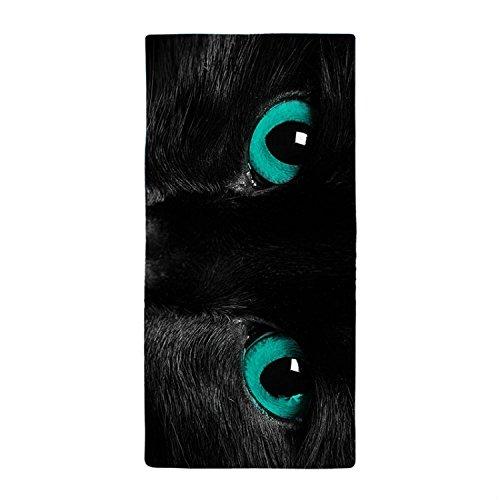 rio-nero-gatto-con-occhi-verdi-blu-cena-assorbente-super-assorbente-asciugamano-da-bagno-in-microfib