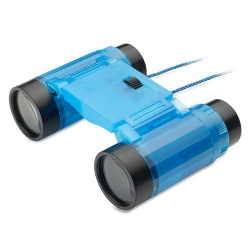 Childrens 2.5X Mini Binoculars In Blue - Magnifying Spy Science Toy