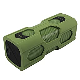Bluetooth Speakers Waterproof Bluesim® Outdoor Speaker with NFC Function Built in Mic for Iphone 6 6plus, Ipad,galaxy S6, Lg and Android Tablets Pc ,Laptop(navy Green)