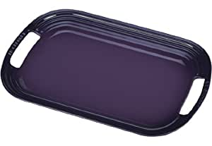 "Le Creuset Stoneware 16"" Oval Serving Platter, Cassis"