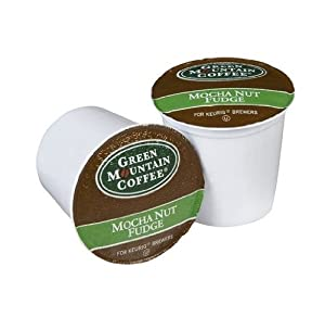 Green Mountain Coffee Mocha Nut Fudge K-cup For Keurig Brewers