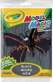 Bulk Buy: Crayola Model Magic 4 Ounces Black 57-4451 (3-Pack) new mf8 eitan s star icosaix radiolarian puzzle magic cube black and primary limited edition very challenging welcome to buy
