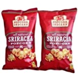 Sriracha Kettlecorn Whole Grain Popcorn Indiana (Pack of 2)