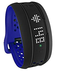 Mio Fuse Heart Rate Training with Activity Tracker, Large (Cobalt Blue)