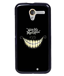Crazymonk Premium Digital Printed Back Cover For Moto X