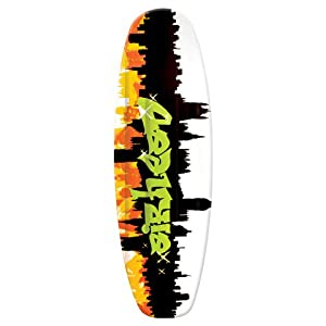 AIRHEAD AHW-3010 Grafitti City Wakeboard [Sports]-AIRHEAD GRAFITTI CITY WAKEBOARD