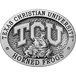 Texas Christian Horned Frogs Belt Buckle - NCAA College Athletics