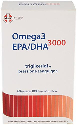 Matt Divisione Pharma Omega 3 EPA/DHA 3000 - 76 gr