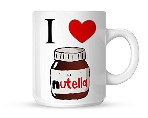 I Heart Nutella I Love Nutella Mug White Mug 10oz