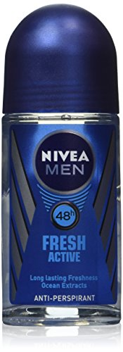 Nivea for Men Fresh Active Deodorant Antiperspirant Roll-on