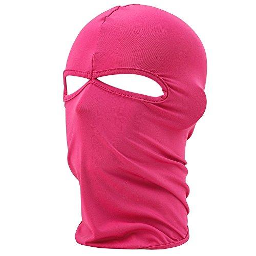 fenti-facemask-lycra-2-fori-sport-balaclava-maschera-monocromatica-calda-bike-sci-snowboard-blu-rosa