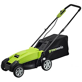 GreenWorks MO14B00 9 Amp 14-Inch Corded Lawn Mower