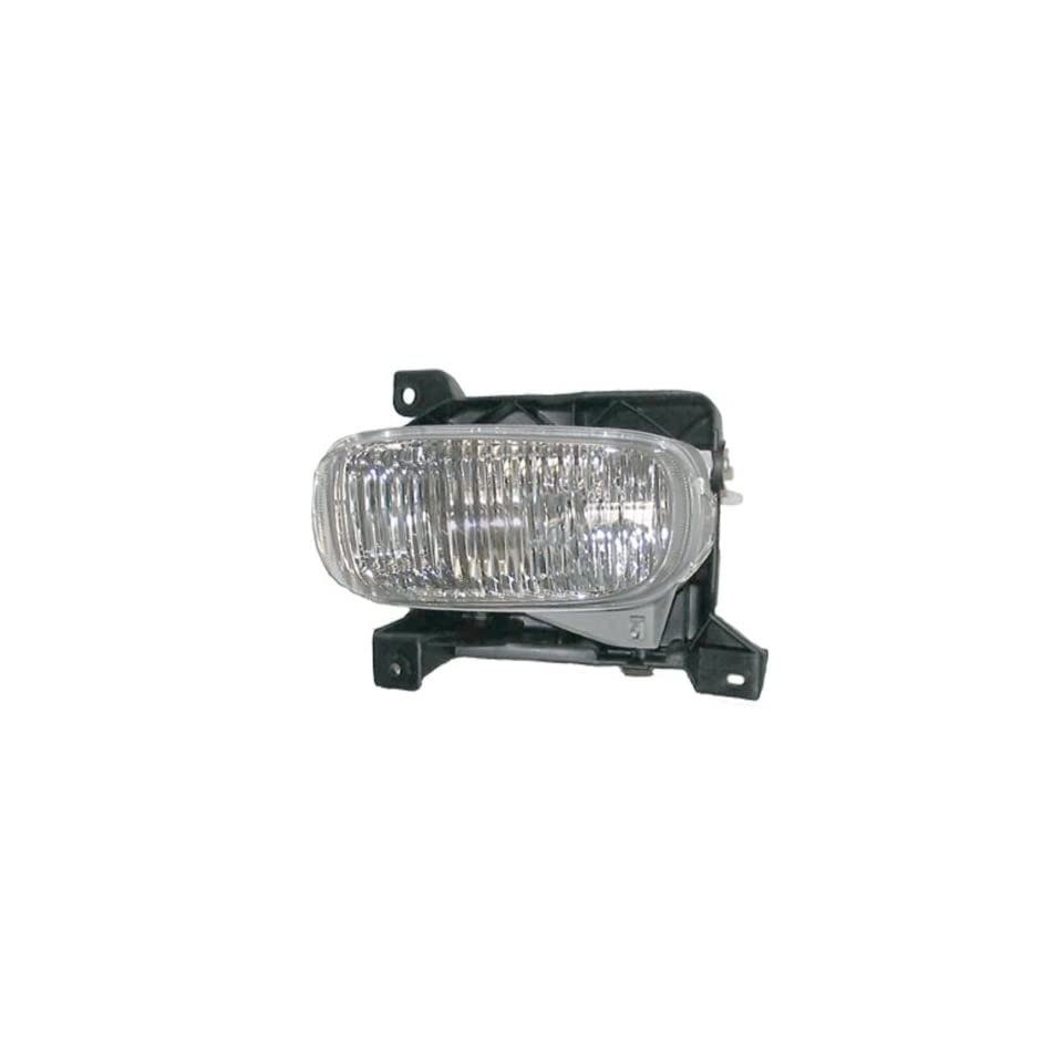 2000 2005 Toyota Tundra Pickup Truck Front Driving Fog Light Lamp Left Driver Side SAE/DOT Approved (2000 00 2001 01 2002 02 2003 03 2004 04 2005 05)