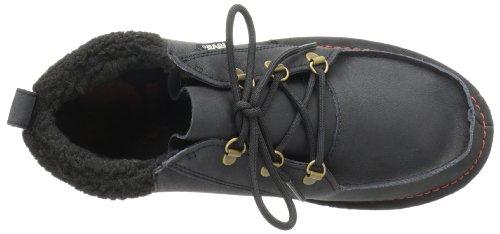 Teva Mush Atoll Chukka Luxe 男士真皮及踝靴 黑色款美国亚马逊
