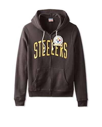 Junk Food Men's Pittsburgh Steelers Zip Front Hoodie