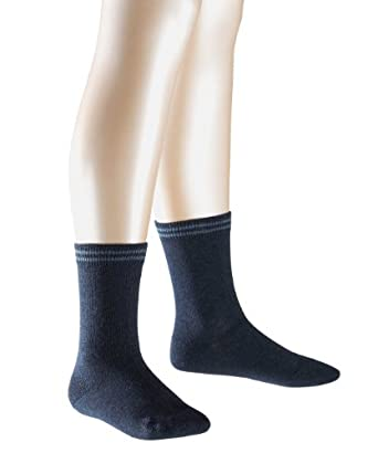FALKE Unisex - Kinder Socken 10673 2Friends SO, Doppelpack, Gr. 27-30, Blau (navyblue m 6490)