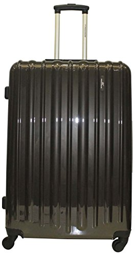 Princeware Princeware Radiant Polycarbonate Dark Grey Luggage Set (6881) (Multicolor)