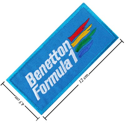 Benetton F1 Racing Embroidered iron-on/sew-on