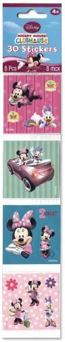 Minnie Mouse Square Stickers - 1