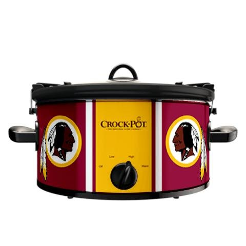 Digital Slow Cookers: Official NFL Washington Redskins Crock-pot Cook & Carry 6 Quart Slow Cooker