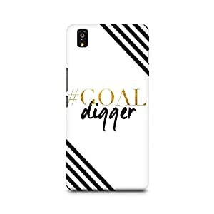 Ebby Goal Digger Premium Printed Case For OnePlus X