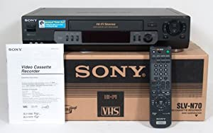 Sony VHS VCR Model SLV-N70