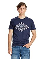 Lee Cooper Camiseta Manga Corta Wellow (Azul Oscuro)