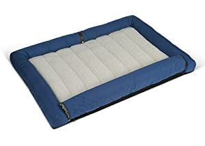 Scruffs Woodlands Ridgeway Pet Bed, 100 x 70 x 8 cm, Blue