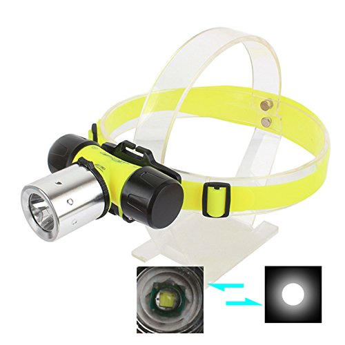Arlybaba 800Lm T6 Led Diving Headlamp Waterproof Flashlight Swimming Headlight Torch