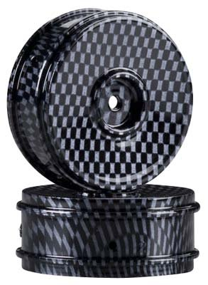Duratrax Graphite Pattern Dish Wheel Vendetta TC (2)