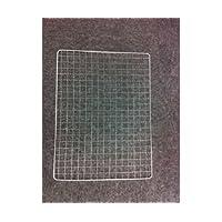 焼き網 角型 W400×H300mm☆バーベキューネット 焼肉・アウトドアなどに 鉄製網