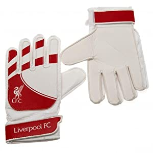 Liverpool F.C. Goalkeeper Gloves - YOUTH SIZE