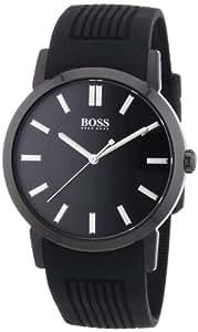 Hugo Boss Herren-Armbanduhr XL Analog Quarz Silikon 1512954